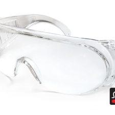 Apsauginiai akiniai Pesso A609, skaidrūs